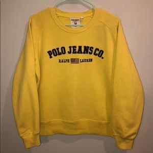 Vintage Polo Sport Crewneck Spell Out Sweatshirt